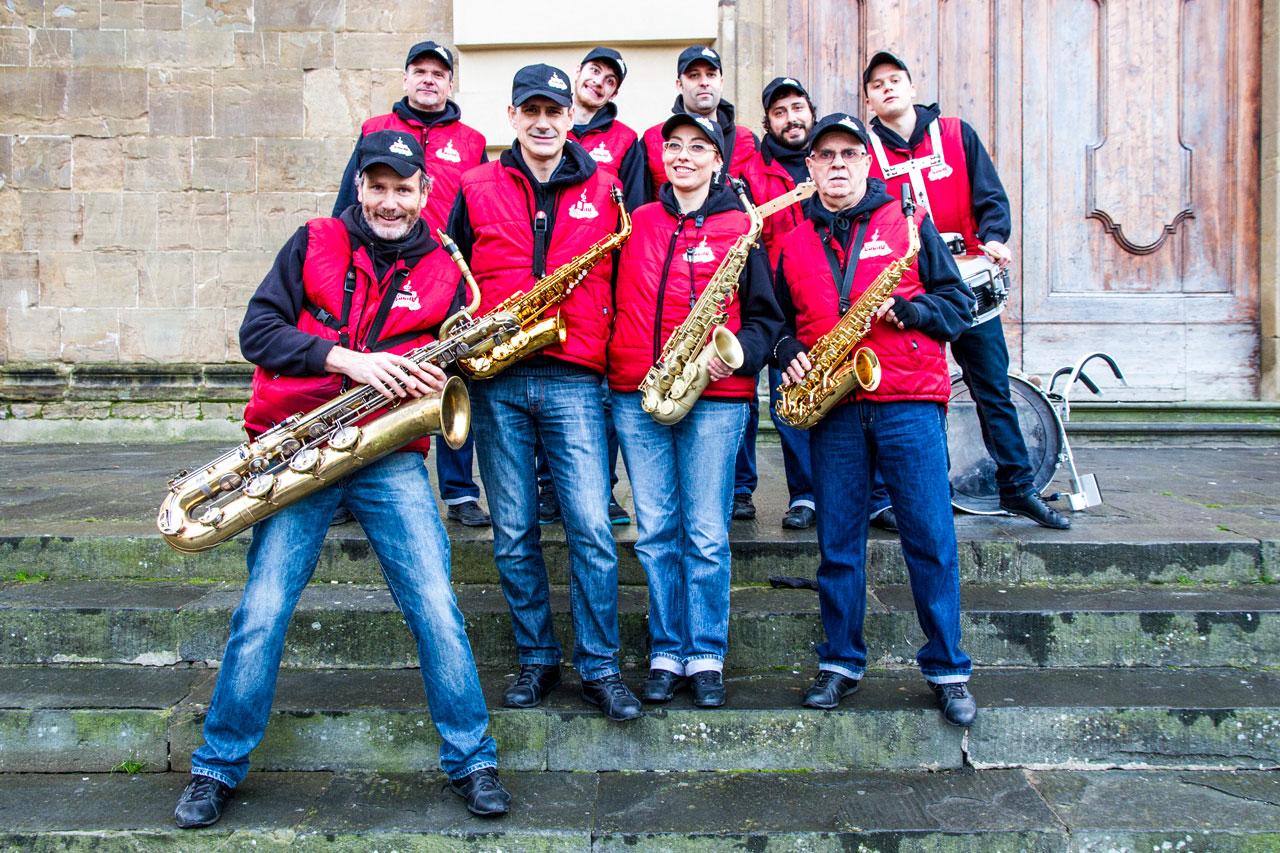 Musica a Firenze con Sound Street Band