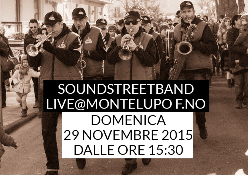 SoundStreetBand-live@Montelupo-Fiorentino